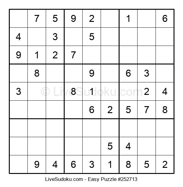 Beginners Puzzle #252713