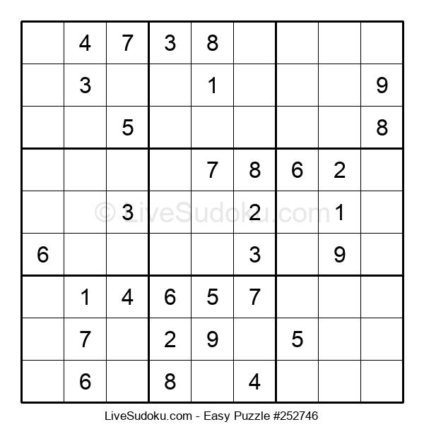 Beginners Puzzle #252746