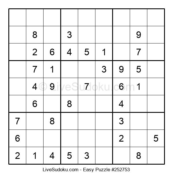 Beginners Puzzle #252753