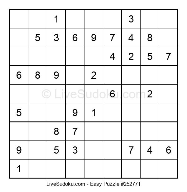 Beginners Puzzle #252771