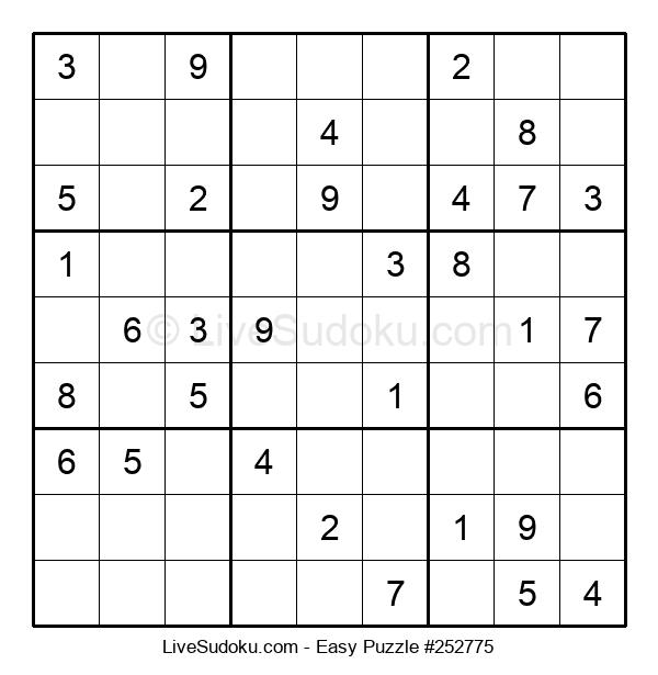 Beginners Puzzle #252775