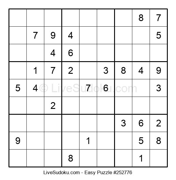 Beginners Puzzle #252776