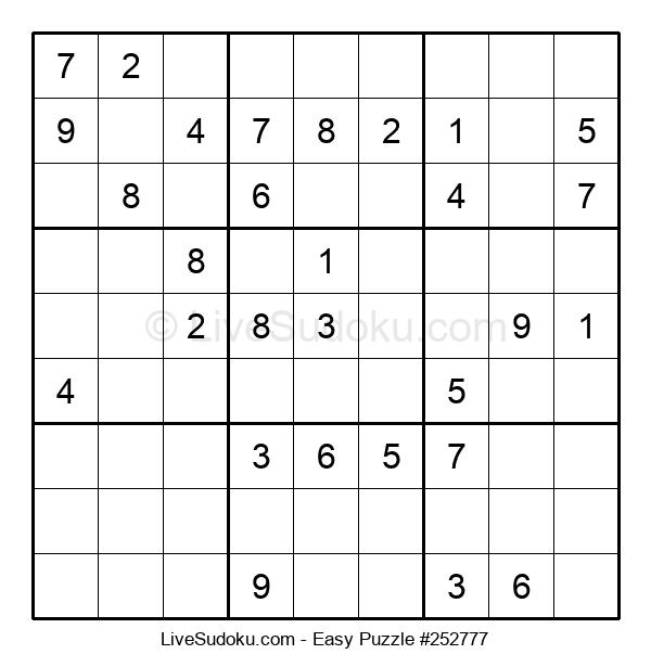 Beginners Puzzle #252777