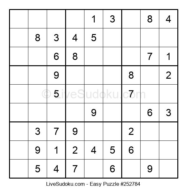 Beginners Puzzle #252784