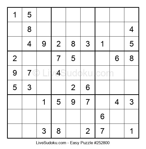 Beginners Puzzle #252800