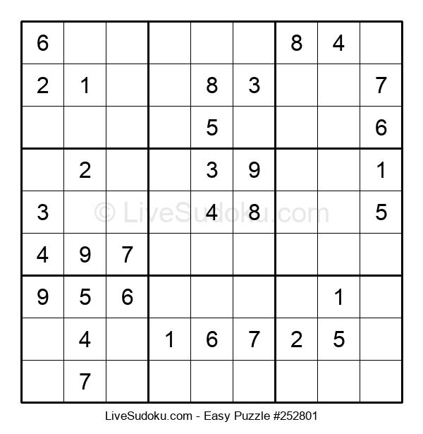 Beginners Puzzle #252801