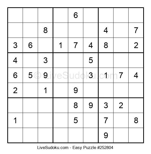Beginners Puzzle #252804