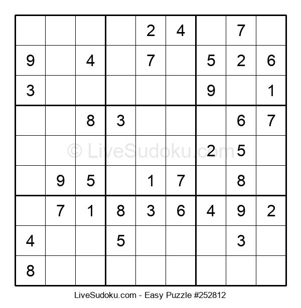 Beginners Puzzle #252812