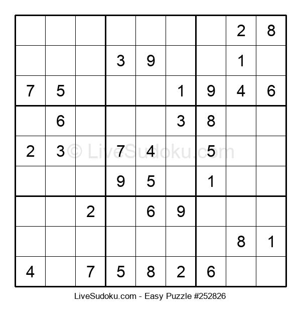 Beginners Puzzle #252826