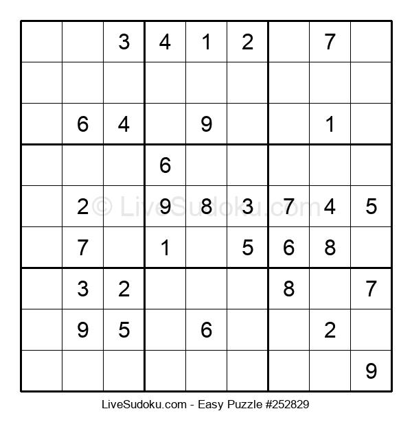 Beginners Puzzle #252829