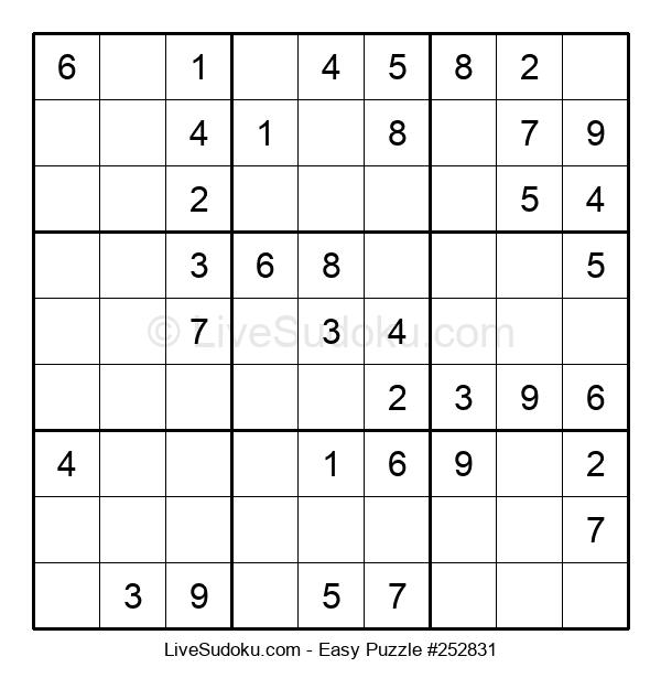 Beginners Puzzle #252831