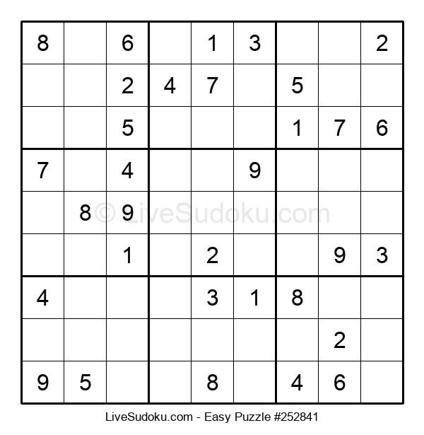 Beginners Puzzle #252841