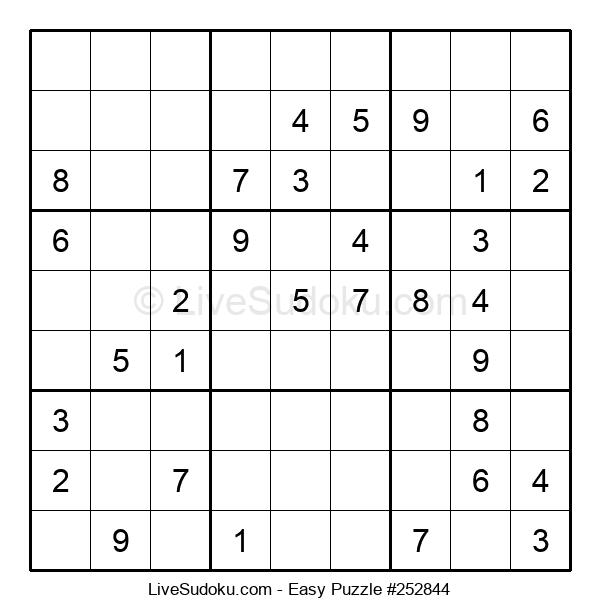 Beginners Puzzle #252844