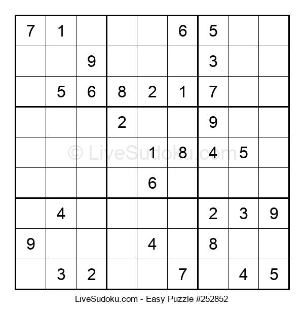 Beginners Puzzle #252852
