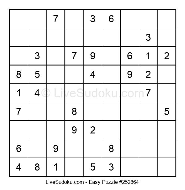 Beginners Puzzle #252864