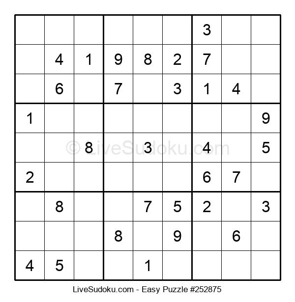 Beginners Puzzle #252875