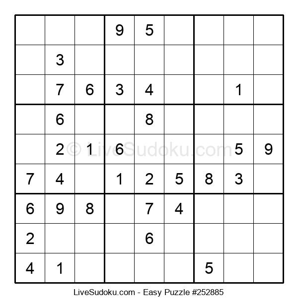 Beginners Puzzle #252885