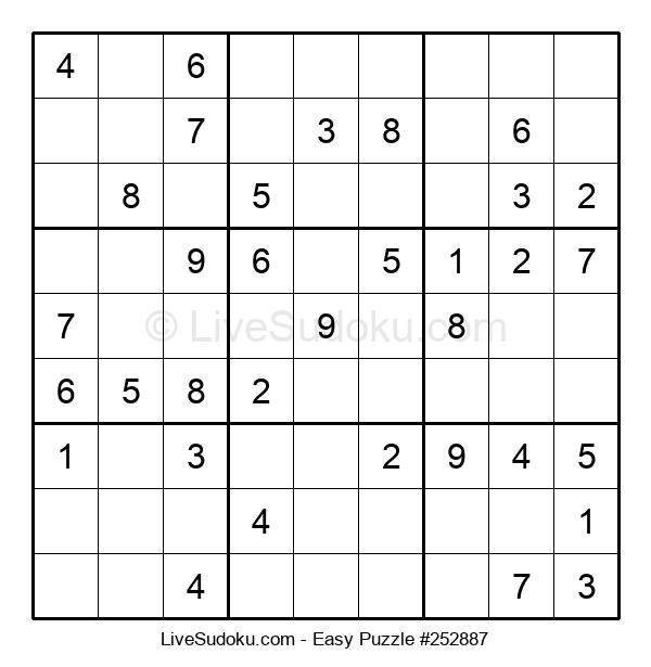 Beginners Puzzle #252887