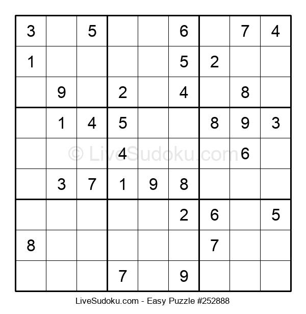 Beginners Puzzle #252888