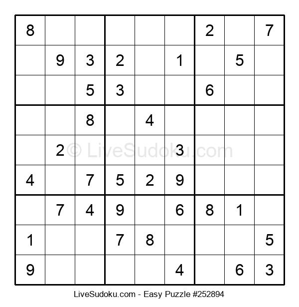 Beginners Puzzle #252894