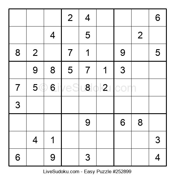 Beginners Puzzle #252899