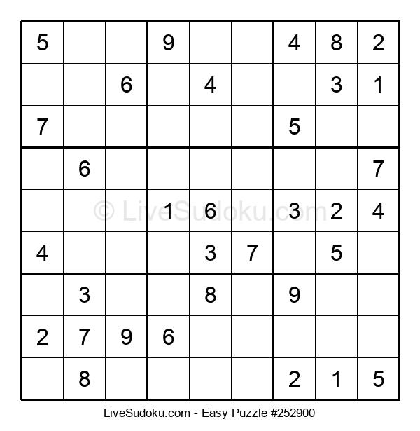 Beginners Puzzle #252900