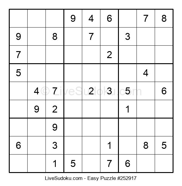 Beginners Puzzle #252917
