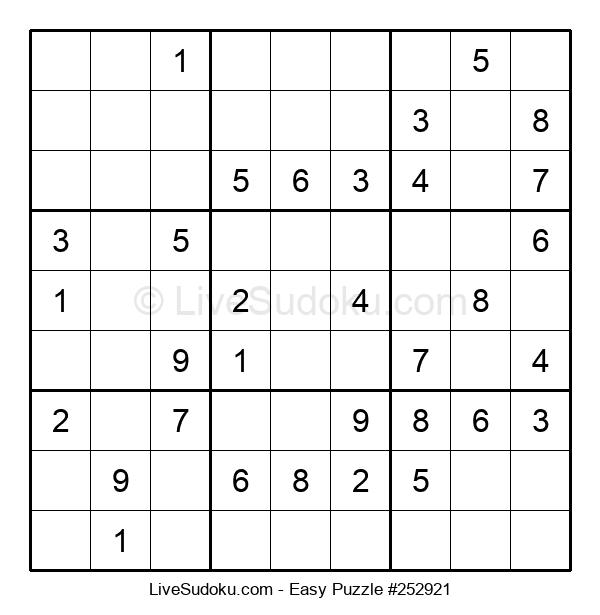 Beginners Puzzle #252921
