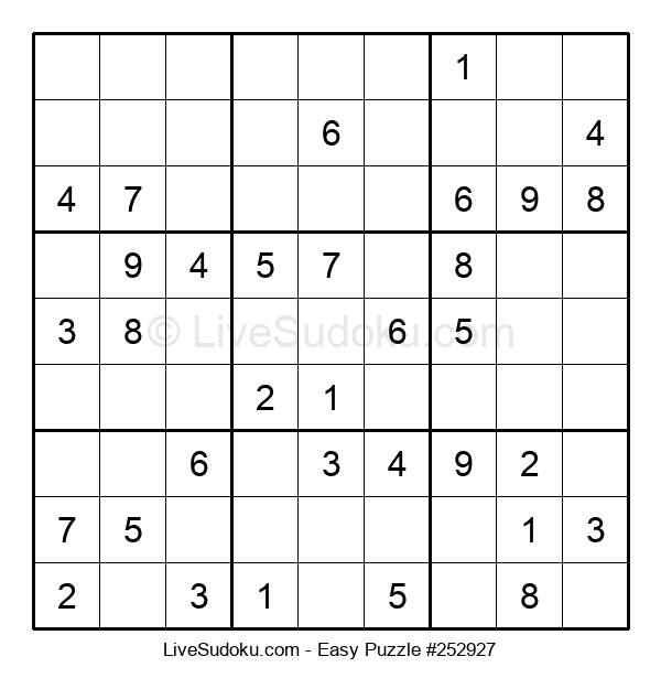 Beginners Puzzle #252927