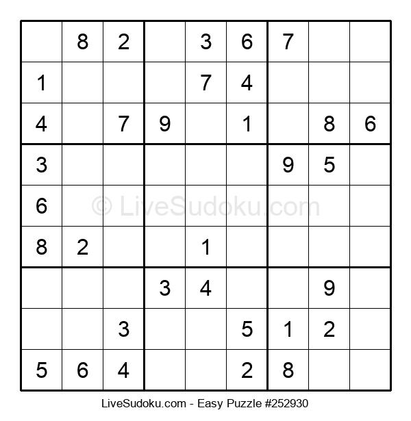 Beginners Puzzle #252930