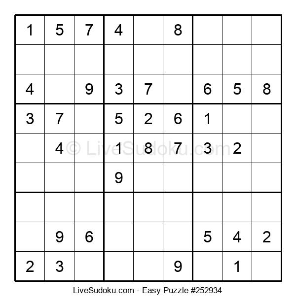 Beginners Puzzle #252934