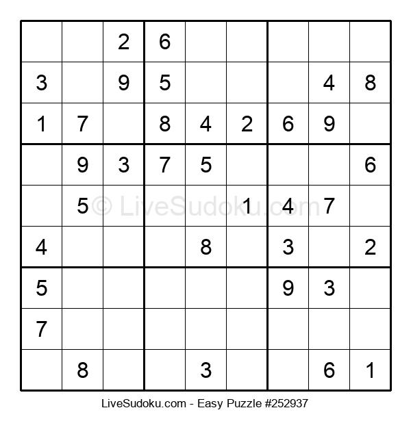 Beginners Puzzle #252937