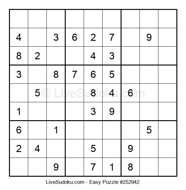 Beginners Puzzle #252942