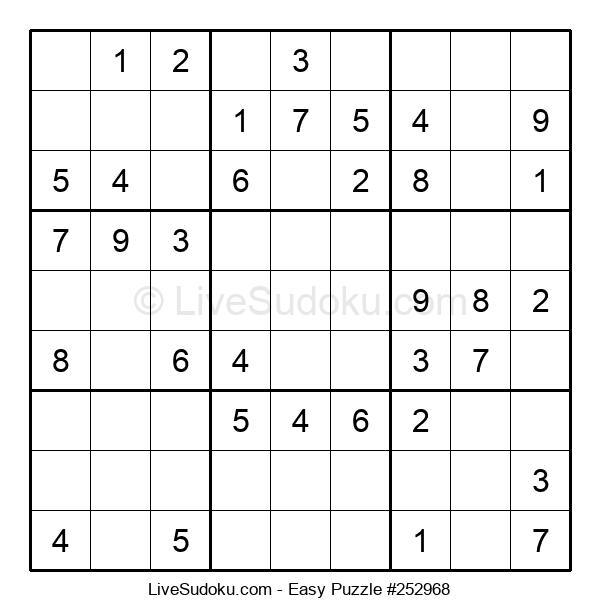 Beginners Puzzle #252968