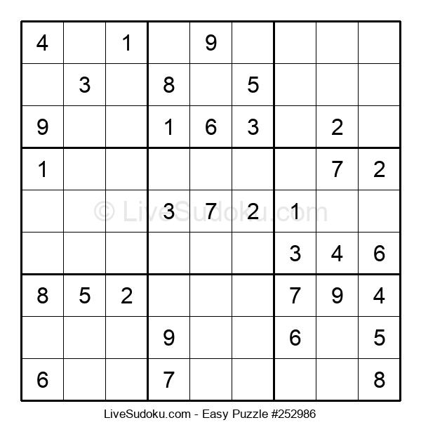 Beginners Puzzle #252986