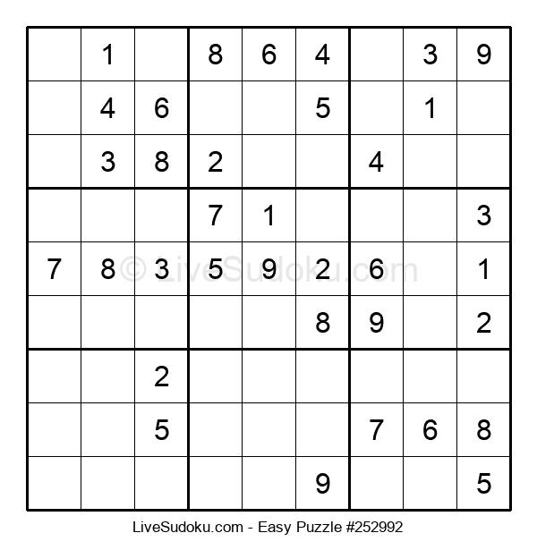 Beginners Puzzle #252992
