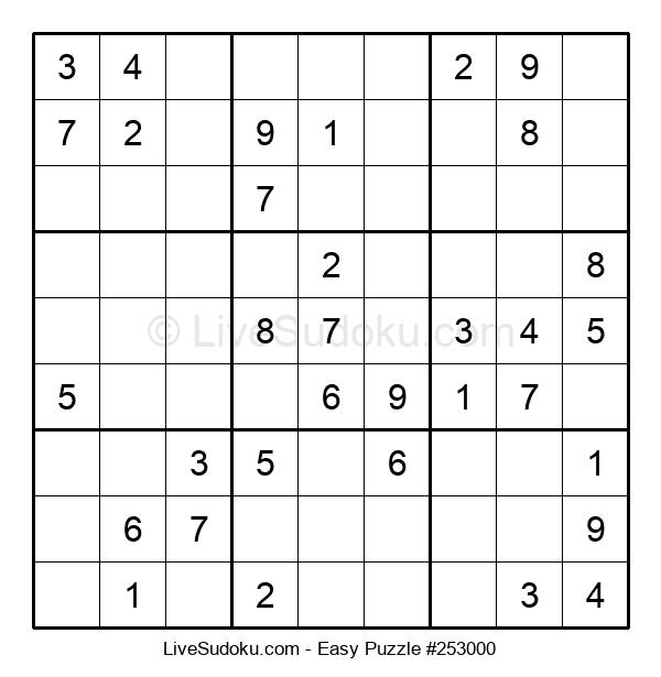 Beginners Puzzle #253000