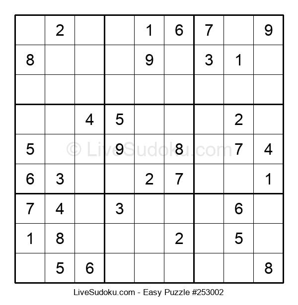 Beginners Puzzle #253002