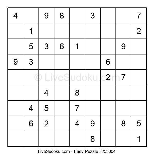Beginners Puzzle #253004