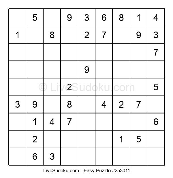 Beginners Puzzle #253011