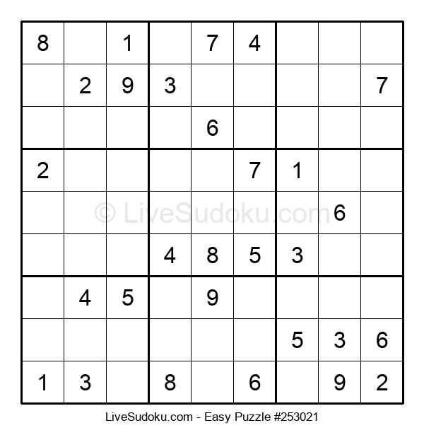 Beginners Puzzle #253021