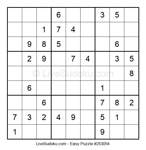 Beginners Puzzle #253054