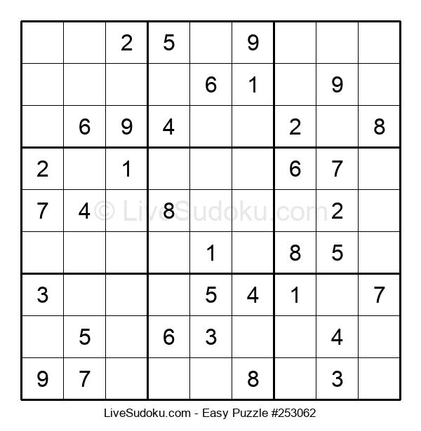 Beginners Puzzle #253062