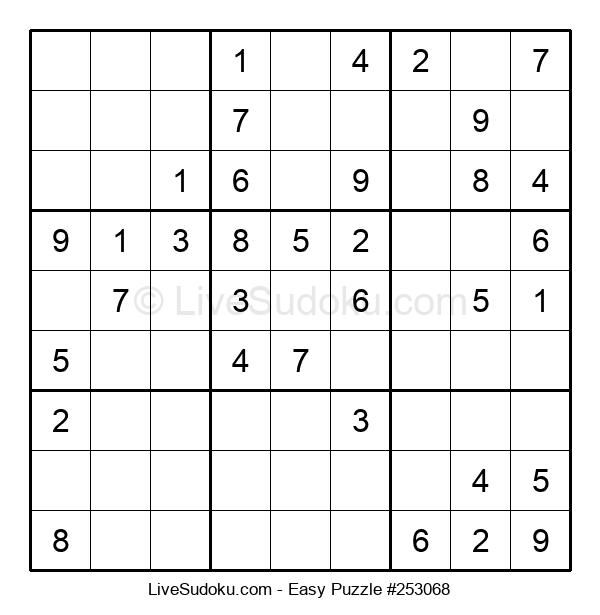 Beginners Puzzle #253068