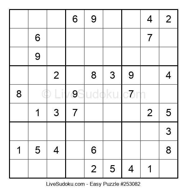 Beginners Puzzle #253082