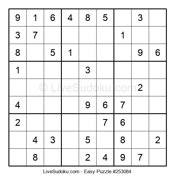 Beginners Puzzle #253084