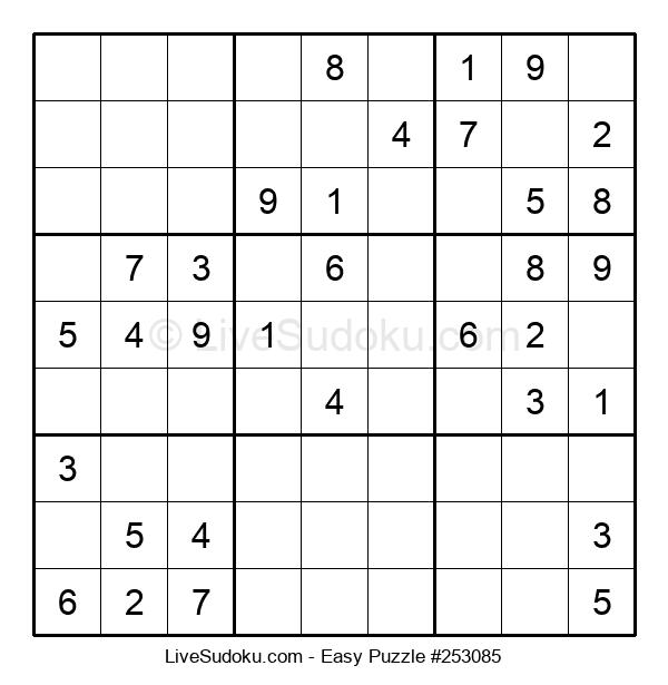 Beginners Puzzle #253085