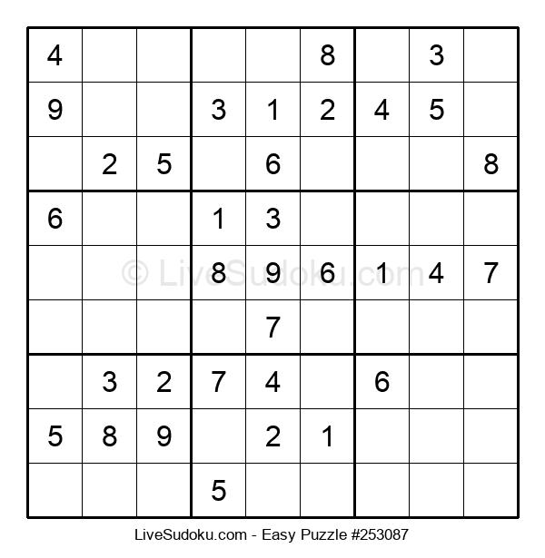 Beginners Puzzle #253087