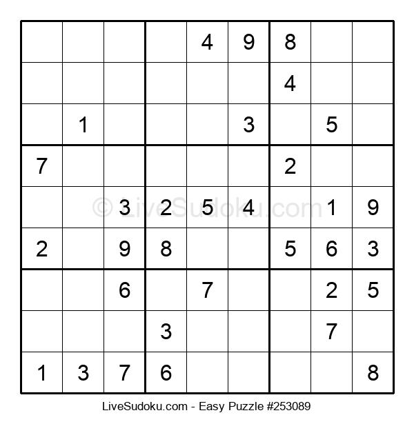Beginners Puzzle #253089