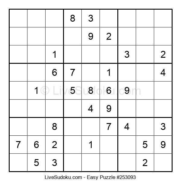 Beginners Puzzle #253093